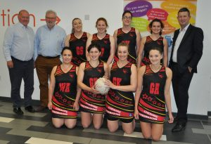 Cheshire Freemasons fun Scorpions Ladies Netball Kit